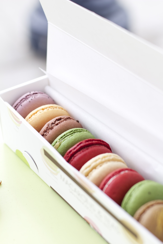 French Macarons From Chantal Guillon