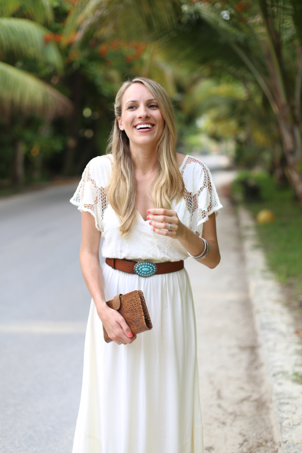Cleobella Iman Maxi Dress & Mexicana Wallet I Adorned With Love
