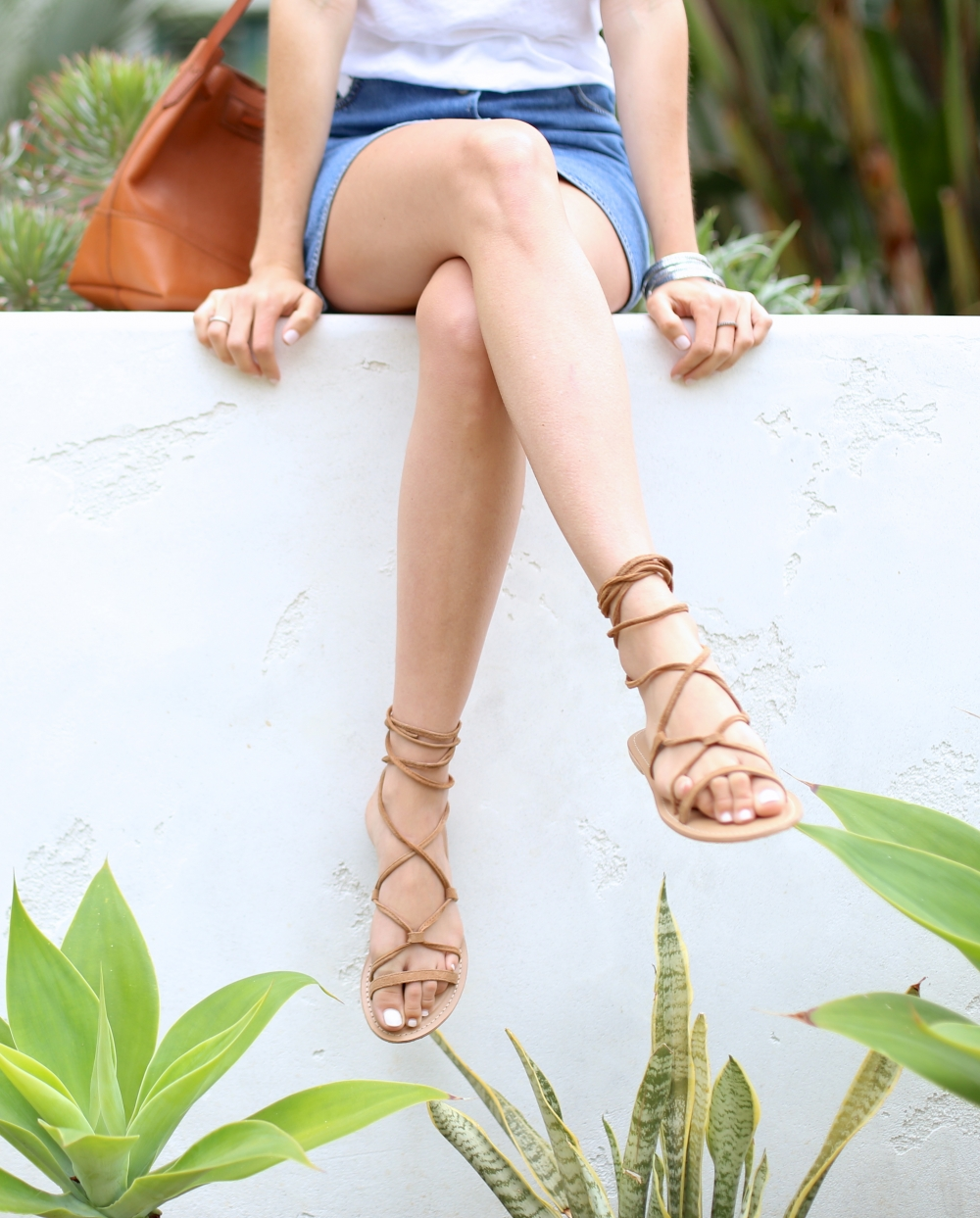Lace-up Sandals I Adorned With Love
