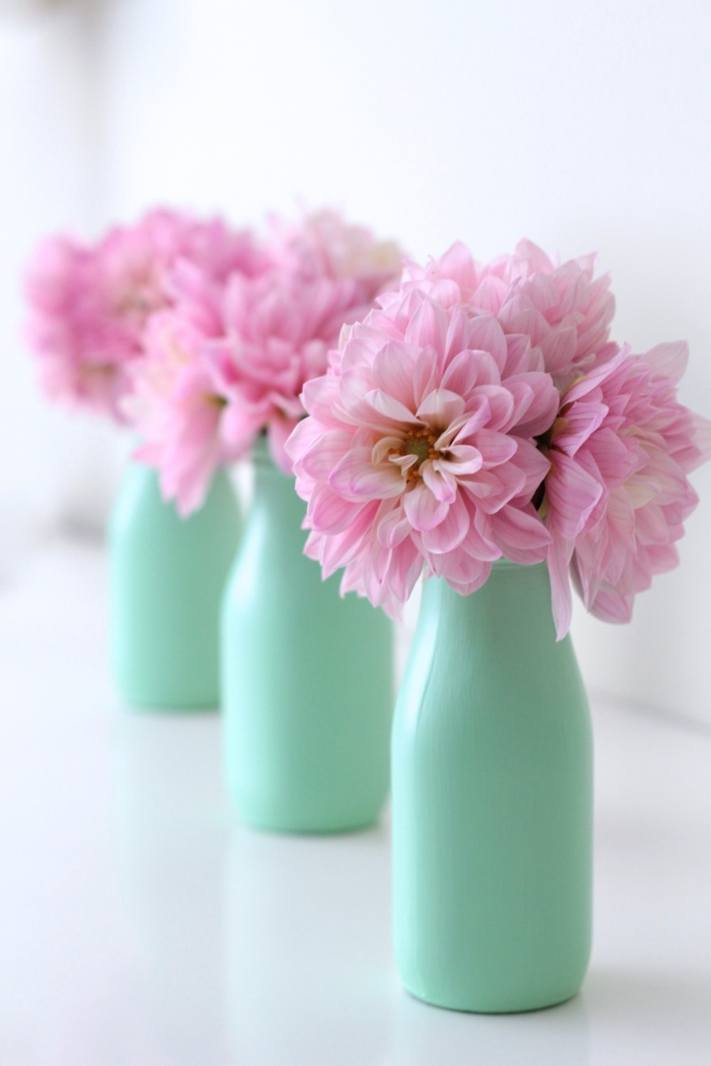 DIY - Pastel painted bottles I Adorned With Love