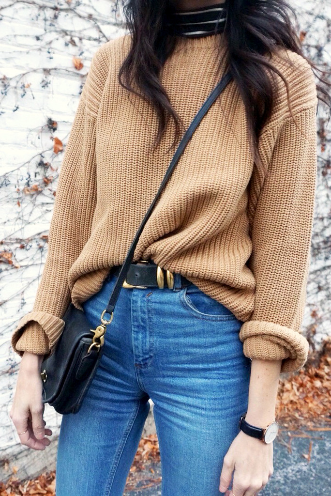 Camel Sweater For Fall