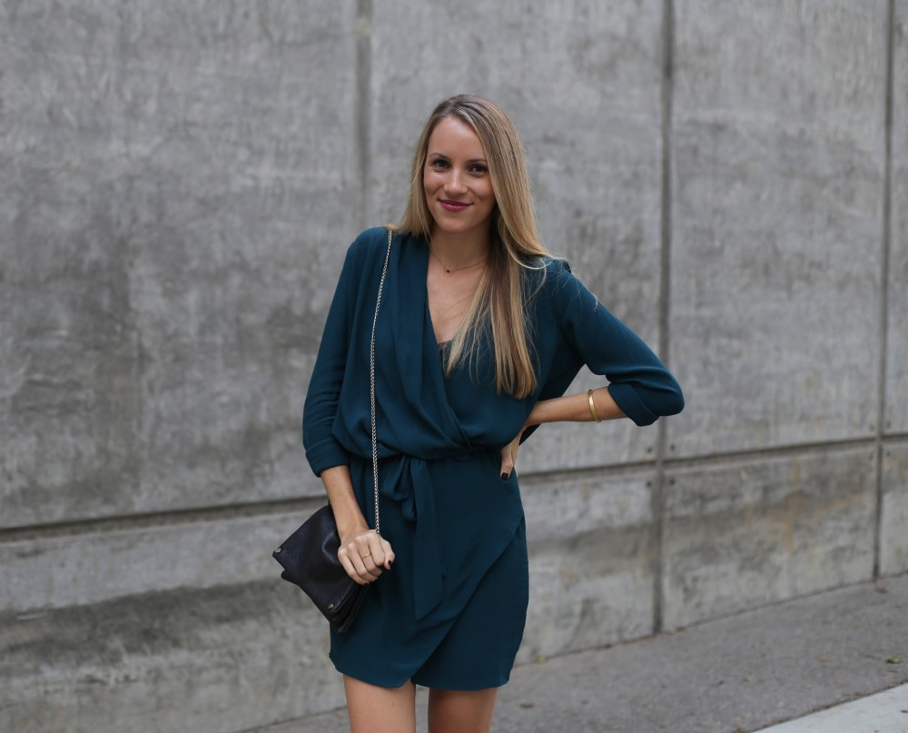 Jewel toned dress - Adorned With Love