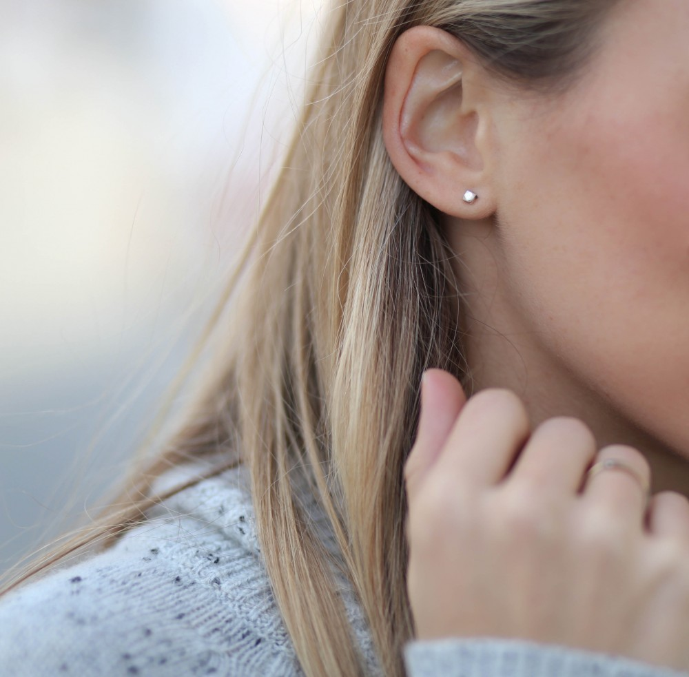 Staccato Stud Earrings by Madewell | Adorned With Love