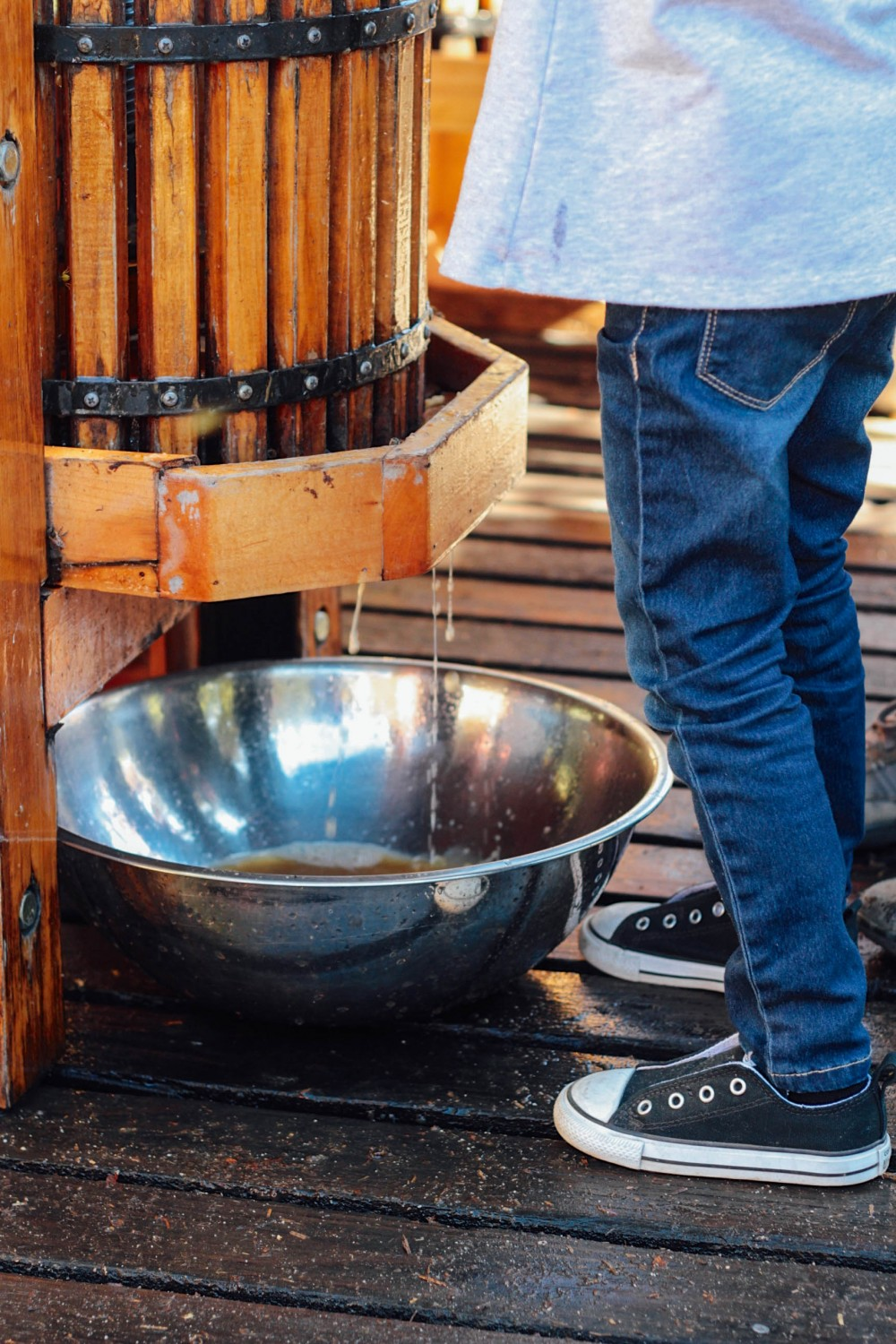 Cider pressing at Willowbrook Farm | Adorned With Love