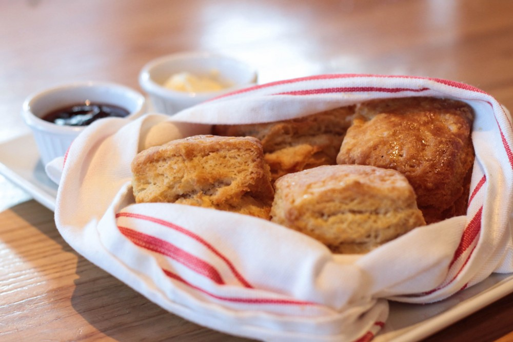 Classic buttermilk biscuits from Yardbird Southern Table & Bar | Adorned With Love