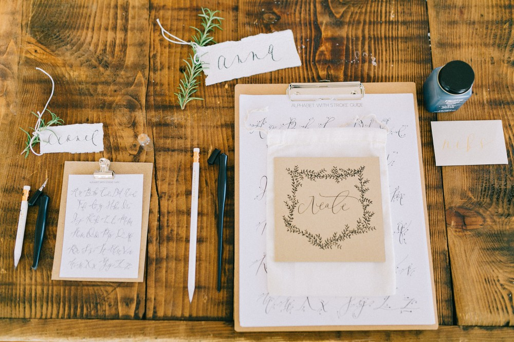 Modern Calligraphy Workshop by Parris Chic Boutique