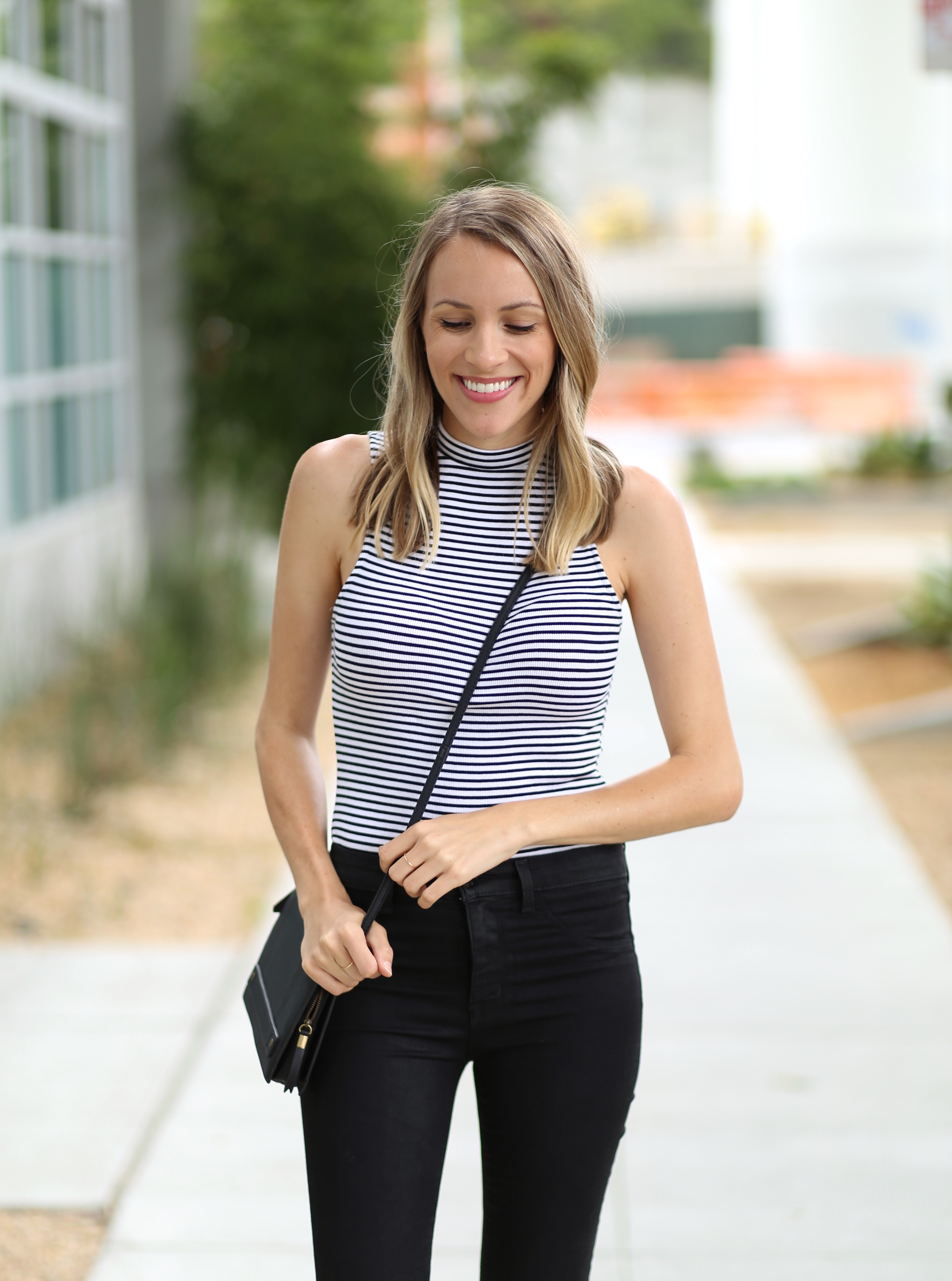 Striped bodysuit | Adorned With Love