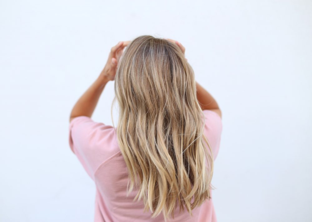 Messy beach waves | Adorned With Love