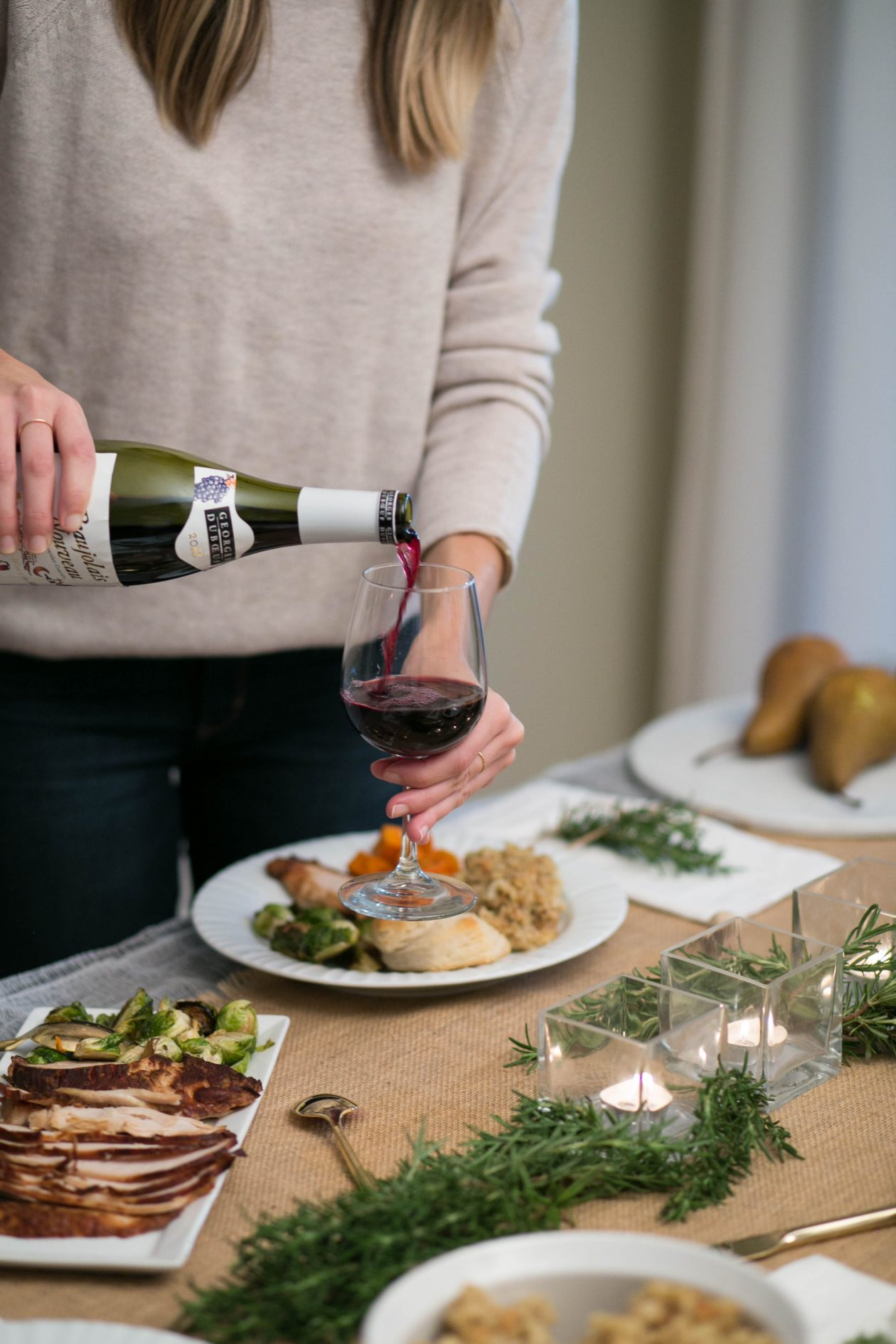 Beaujolais Nouveau - the perfect holiday wine | Adorned With Love