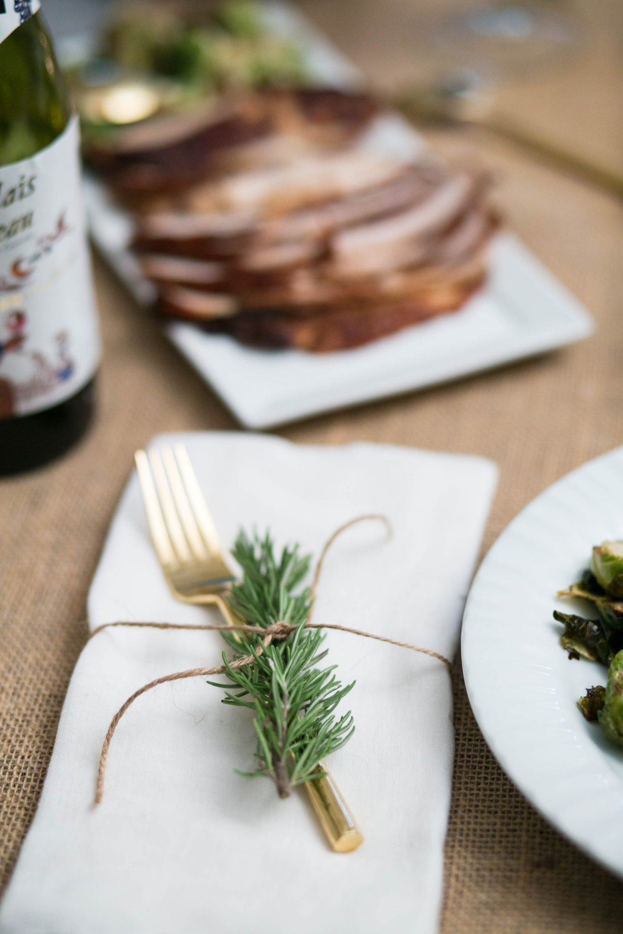 Rustic Thanksgiving Table Setting | Adorned With Love