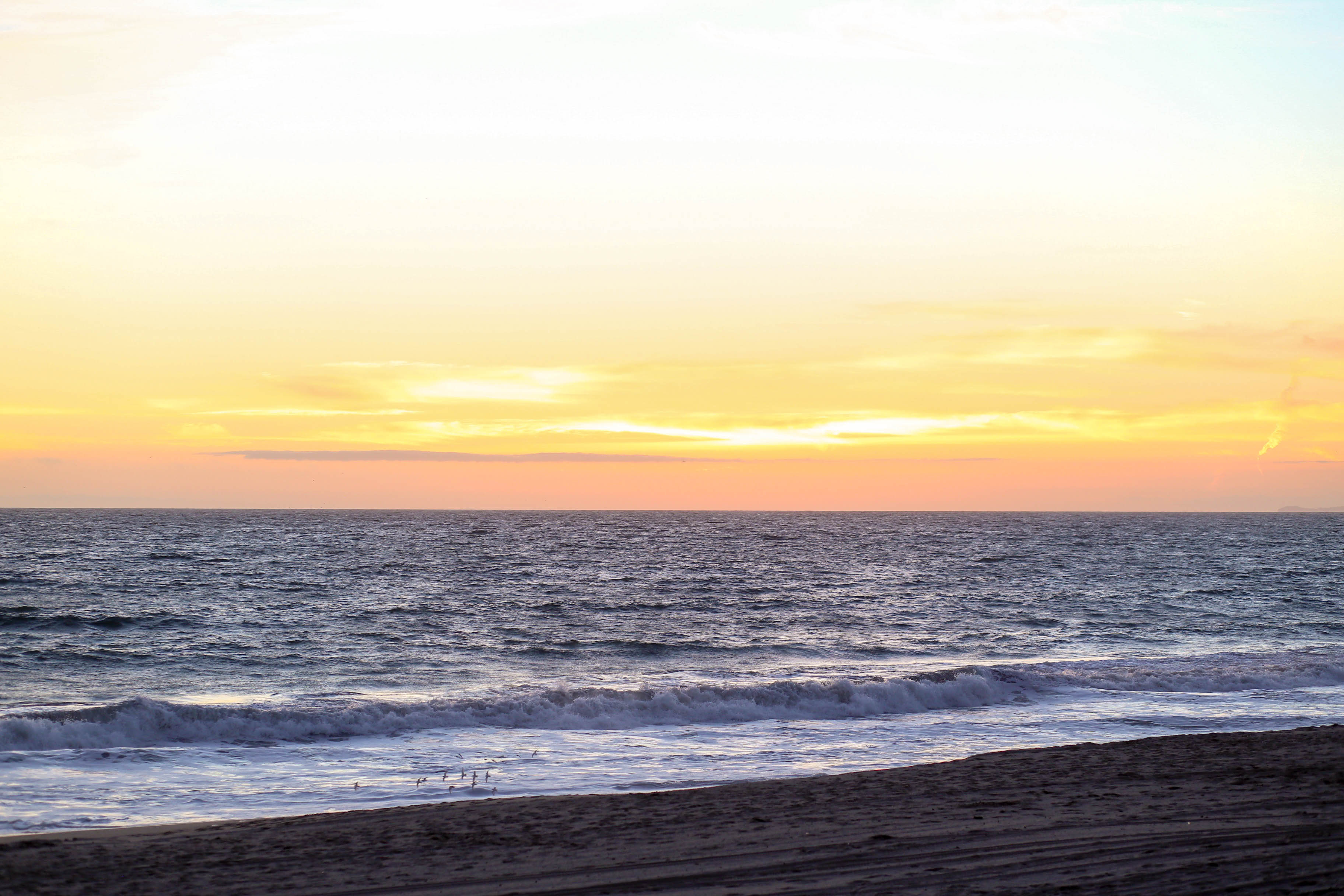 Santa Monica Beach Sunset | Adorned With Love